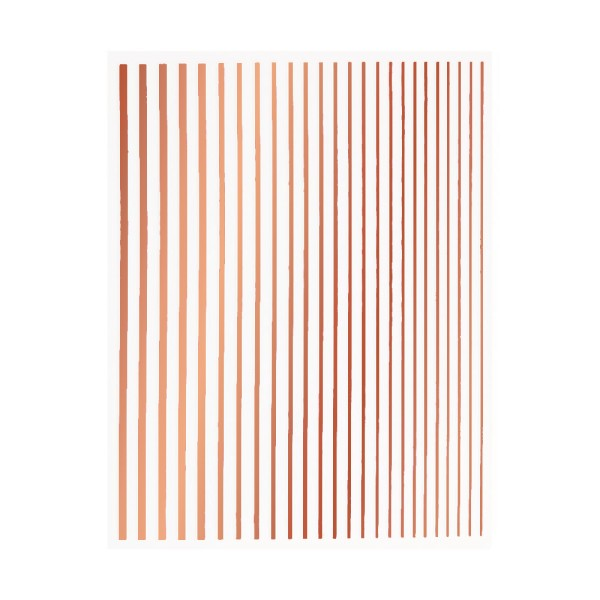 JUSTNAILS Flexible Stripes Set rosé gold