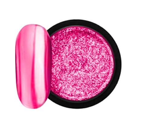 JUSTNAILS Mirror-Glow Nagel Pigment - Pink Miracle
