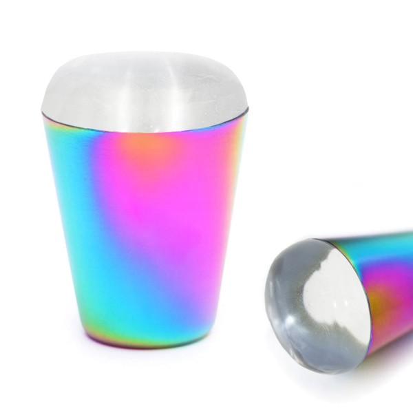 Stamping Kissen Jelly XL rainbow transparent