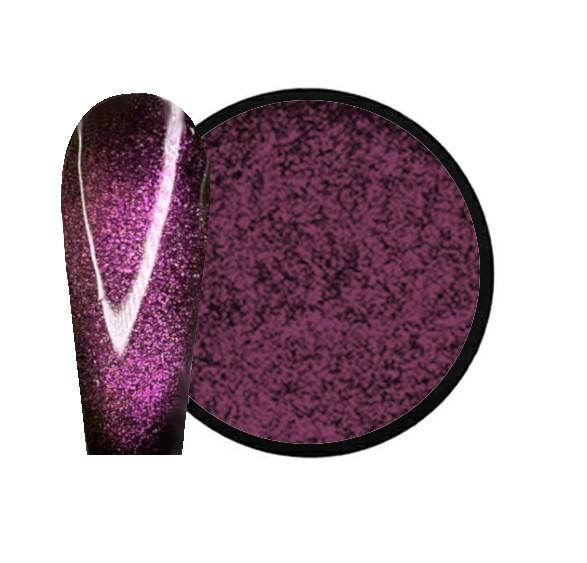 JUSTNAILS Mirror-Glow 3D Cat Eye Nagel Pigment - Delicate Sugar