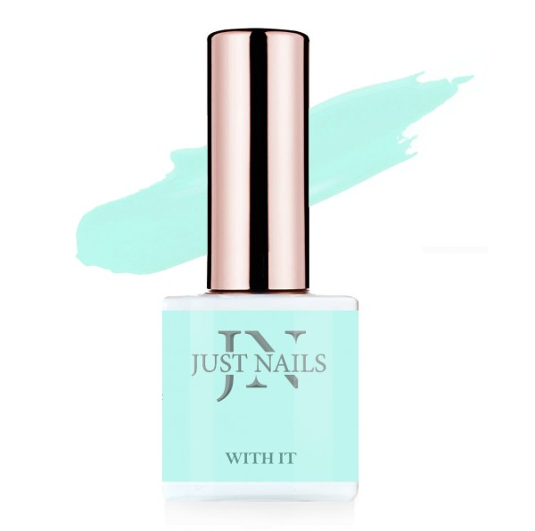 JUSTNAILS Flexi Colour - With it - Polish Shellac Soak-off Gel 12ml