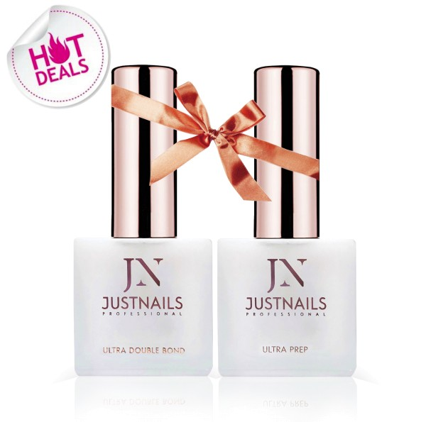 JUSTNAILS SET DUO - Primer Ultra Double Bond & Ultra Prep Dehydrator