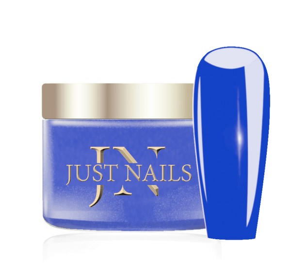JUSTNAILS Premium Acryl Pulver - I'M BLUE 12g
