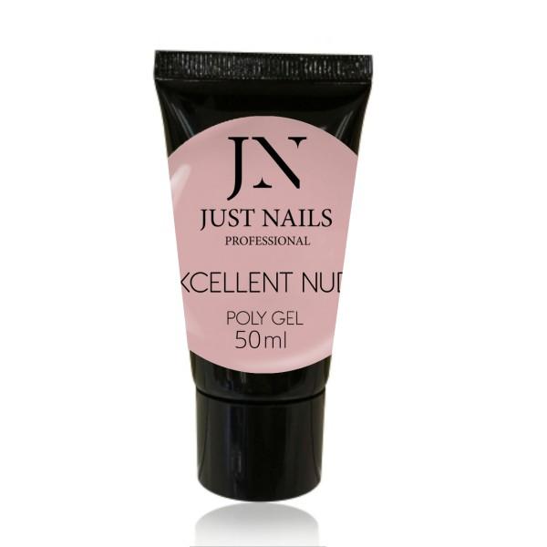 JUSTNAILS Polygel - Excellent Nude 50ml