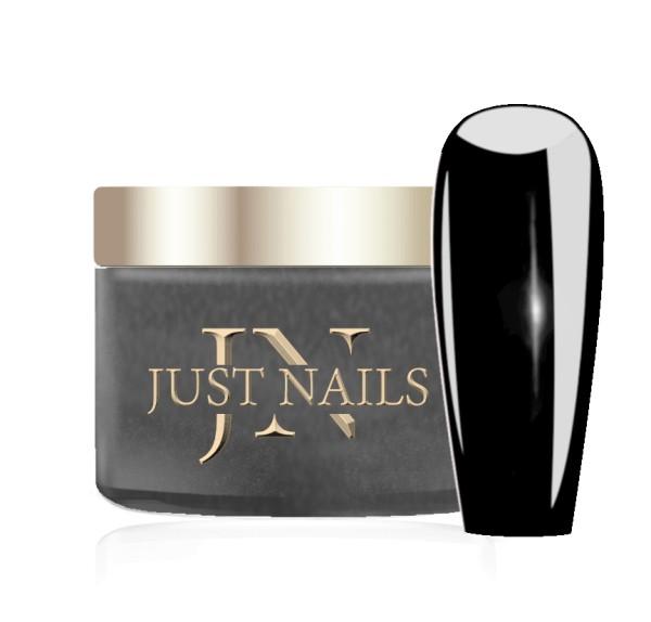 JUSTNAILS Premium Acryl Pulver - BLACK BLACK 12g