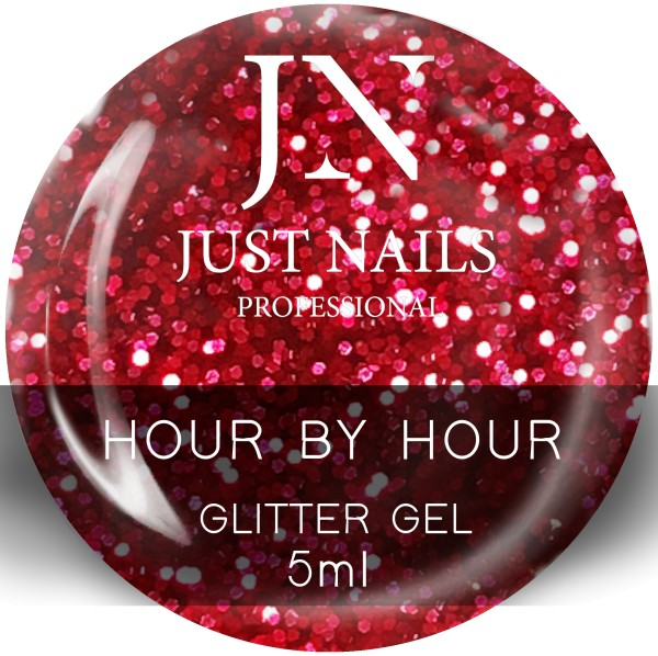 JUSTNAILS Hour by Hour - Chrome Effect Gel