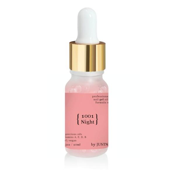 JUSTNAILS Premium Protect GEL Nail Oil - 1001 Night 10ml