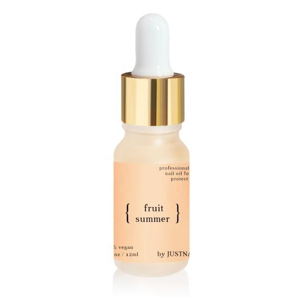 JUSTNAILS Premium Protect Nail Oil - Fruit Summer 10ml