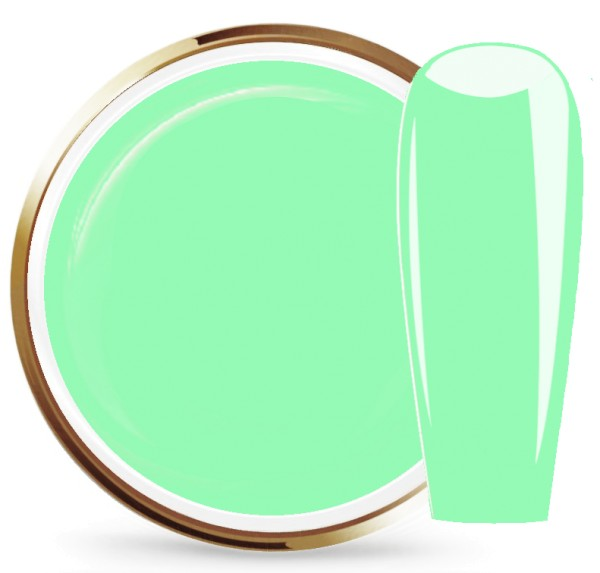 JUSTNAILS Farbgel Seagreen